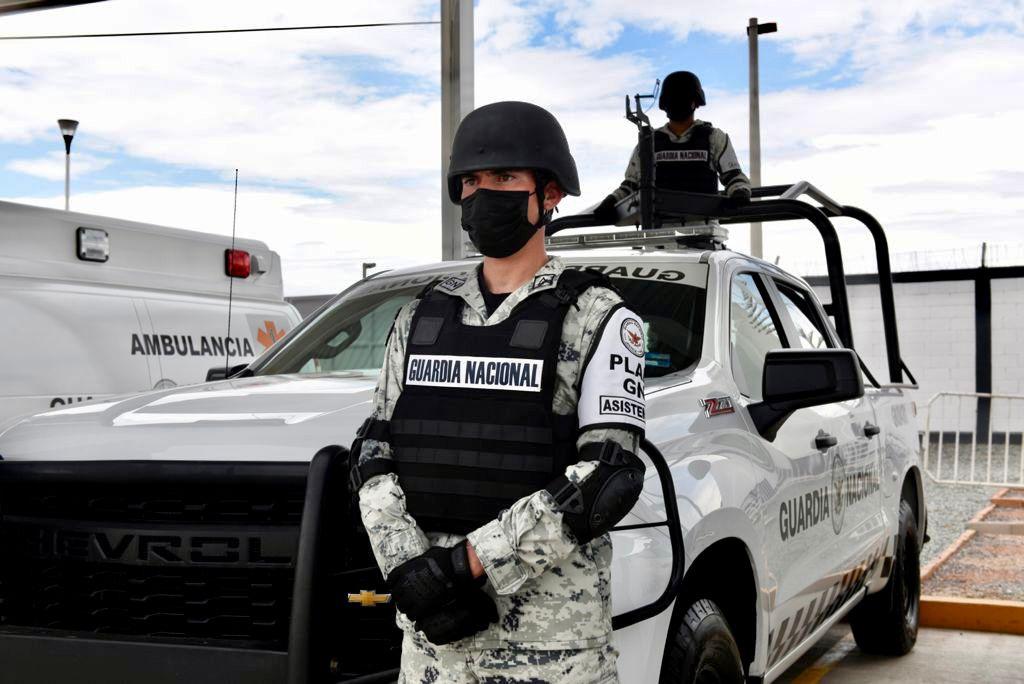 Elementos de la Guardia Nacional. Foto Cortesía